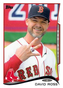 2014 Topps Update #US-60 David Ross Front