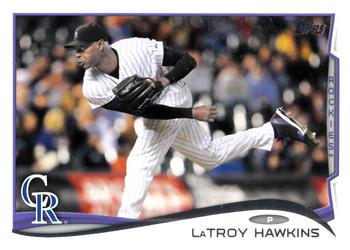 2014 Topps Update #US-64 LaTroy Hawkins Front
