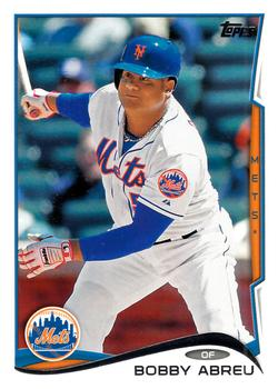 2014 Topps Update #US-298 Bobby Abreu Front