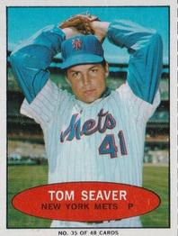 1971 Bazooka Numbered Test #35 Tom Seaver Front