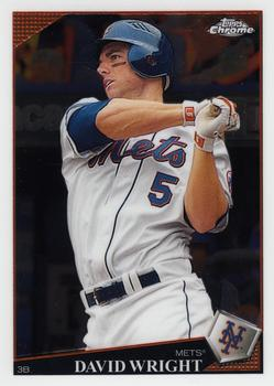 2009 Topps Chrome #24 David Wright Front
