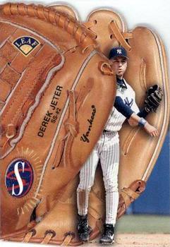 1997 Leaf - Statistical Standouts #12 Derek Jeter Front