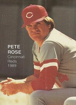 1989 Baseball's Best Two (unlicensed) #1 Pete Rose Front