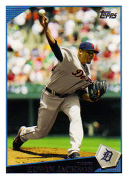 2009 Topps Updates & Highlights #UH49 Edwin Jackson Front