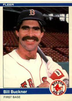 1984 Fleer Update #18 Bill Buckner Front