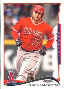 2014 Topps Mini #154 Chris Iannetta Front