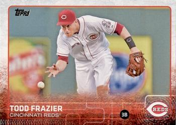 2015 Topps #42a Todd Frazier Front