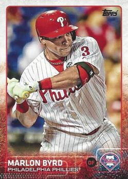 2015 Topps #187 Marlon Byrd Front