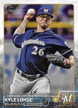 2015 Topps #410 Kyle Lohse Front