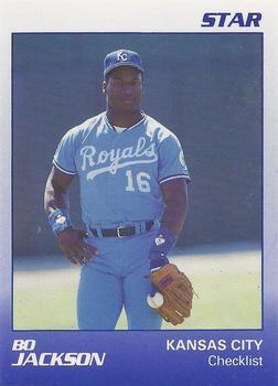 1989 Star Bo Jackson Baseball Gallery The Trading Card