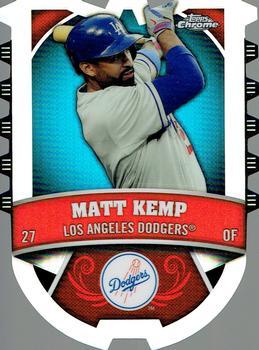 2014 TOPPS CHROME #202 MATT KEMP REFRACTOR