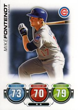 2010 Topps Heritage #27 Mike Fontenot Cubs