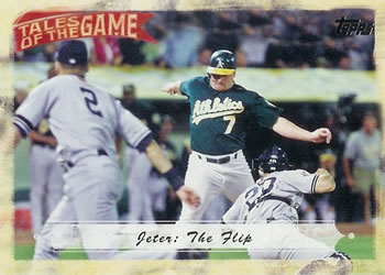 2010 Topps - Tales of the Game #TOG20 Jeter: The Flip Front