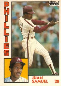 1984 Topps Traded #105T Juan Samuel Front