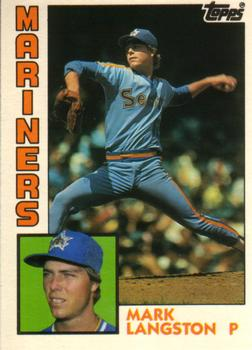 1984 Topps Traded #70T Mark Langston Front