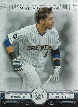 2015 Topps Museum Collection #84 Ryan Braun Front