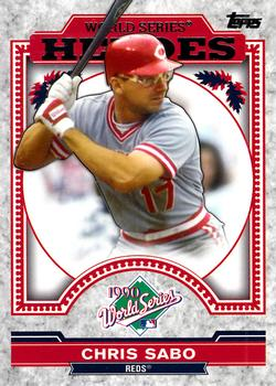 2014 Topps Update - World Series Heroes #WSH-CS Chris Sabo Front