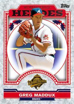 2014 Topps Allen /& Ginters - Baseball Card Greg Maddux - Mini #127 Base