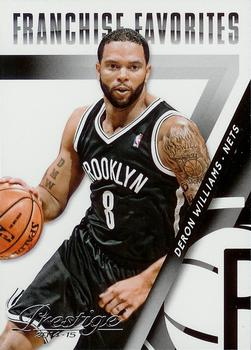 2014-15 Panini Prestige - Franchise Favorites #3 Deron Williams Front