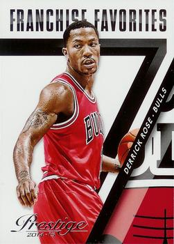 2014-15 Panini Prestige - Franchise Favorites #5 Derrick Rose Front