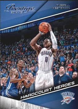 2014-15 Panini Prestige - Hardcourt Heroes #7 Russell Westbrook Front