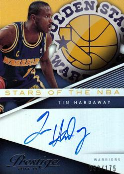 2014-15 Panini Prestige Premium - Stars of the NBA #20 Tim Hardaway Front