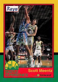 1990-91 Kayo Seattle SuperSonics #2 Scott Meents Front