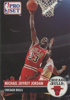 1991 92 Pro Set Prototypes 000 Michael Jordan