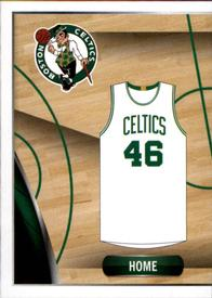 2014-15 Panini Stickers #5 Celtics Home Jersey Front