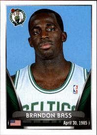 2014-15 Panini Stickers #10 Brandon Bass Front