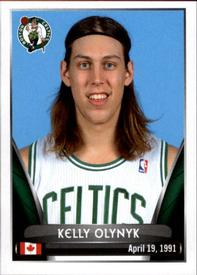 2014-15 Panini Stickers #13 Kelly Olynyk Front
