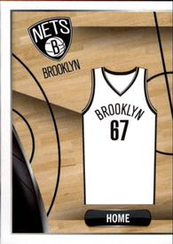 2014-15 Panini Stickers #18 Nets Home Jersey Front