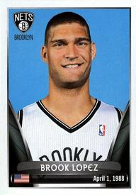 2014-15 Panini Stickers #26 Brook Lopez Front