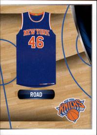 2014-15 Panini Stickers #32 New York Knicks Road Jersey Front
