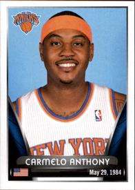 2014-15 Panini Stickers #33 Carmelo Anthony Front