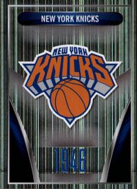 2014-15 Panini Stickers #37 New York Knicks Logo Front