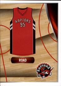 2014-15 Panini Stickers #58 Raptors Road Jersey Front