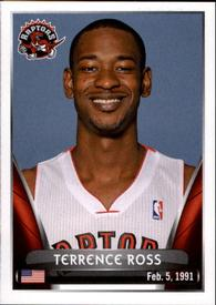 2014-15 Panini Stickers #64 Terrence Ross Front