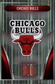 2014-15 Panini Stickers #76 Chicago Bulls Logo Front