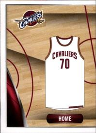 2014-15 Panini Stickers #83 Cavaliers Home Jersey Front