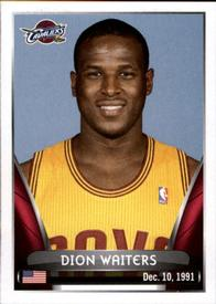 2014-15 Panini Stickers #87 Dion Waiters Front