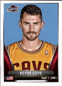 2014-15 Panini Stickers #91 Kevin Love Front