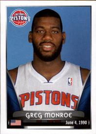 2014-15 Panini Stickers #98 Greg Monroe Front