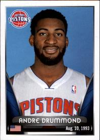 2014-15 Panini Stickers #99 Andre Drummond Front