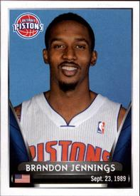 2014-15 Panini Stickers #100 Brandon Jennings Front