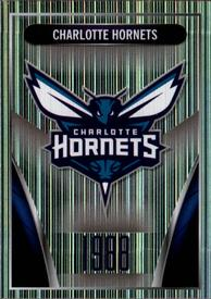 2014-15 Panini Stickers #154 Charlotte Hornets Logo Front