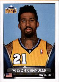 2014-15 Panini Stickers #269 Wilson Chandler Front