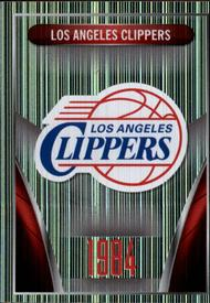 2014-15 Panini Stickers #349 Los Angeles Clippers Logo Front