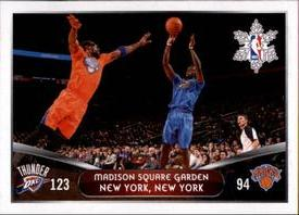 2014-15 Panini Stickers #415 Thunder - Knicks Front