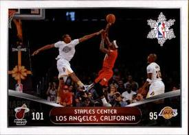 2014-15 Panini Stickers #416 Heat - Lakers Front